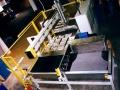 Anlage zur Herstellung von Kofferraumböden