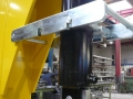 Hydraulikzylinder mit Prisma