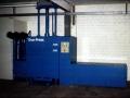 Presse zum Verdichten von Folien und Kartons